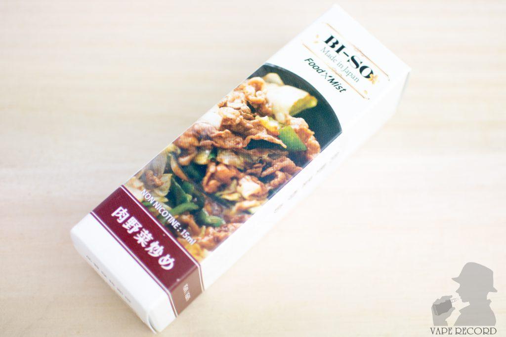 肉野菜炒め パッケージ