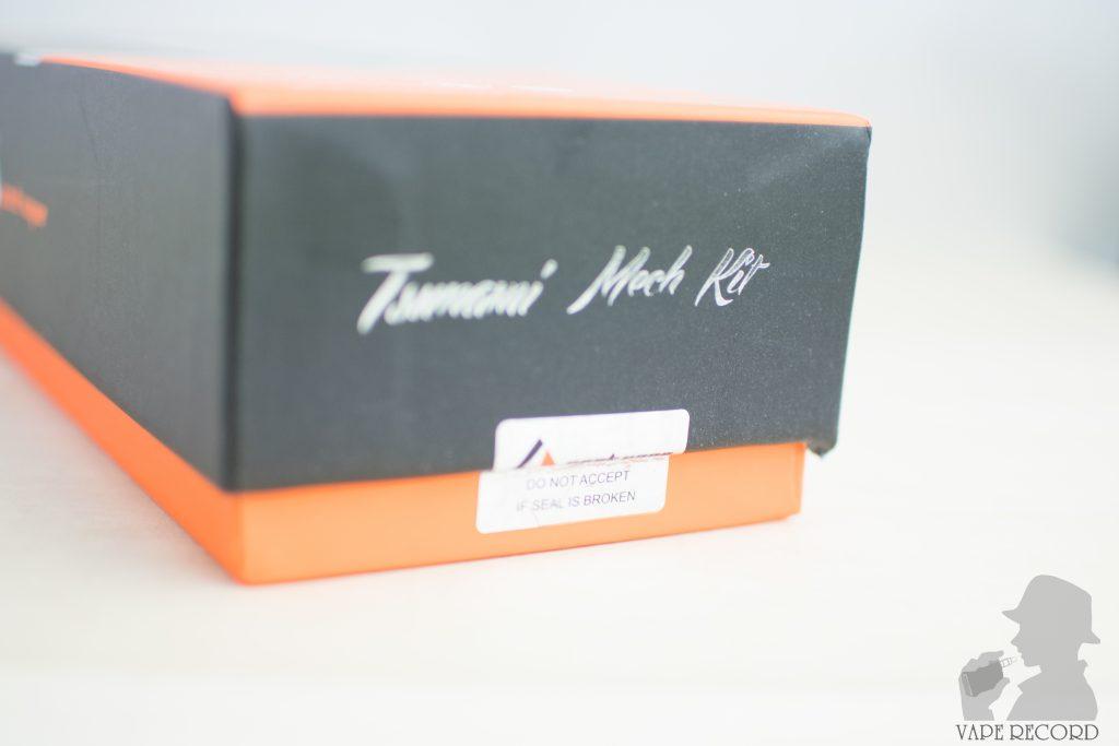 tsunami mech kit パッケージ封印