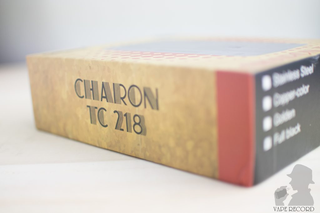 Charon パッケージ側面