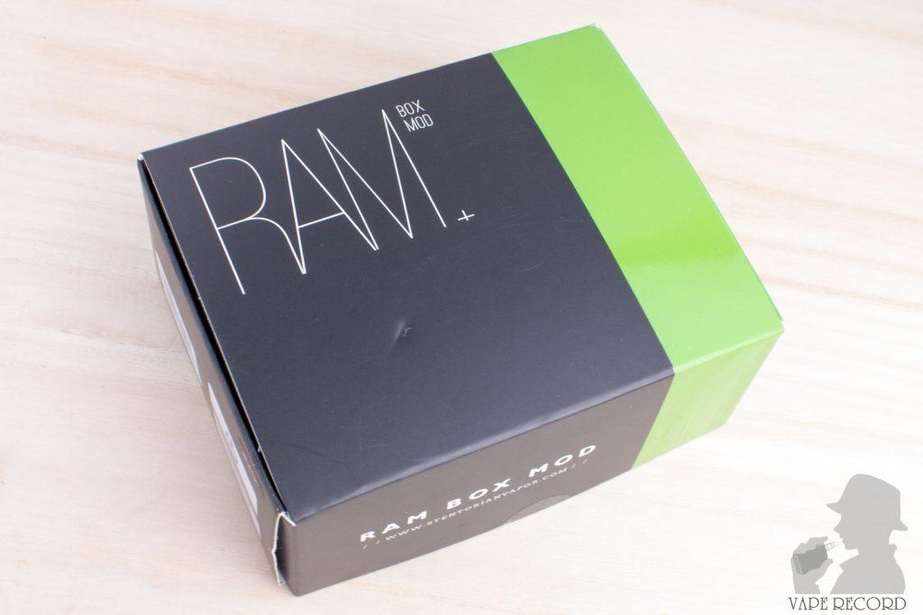 RAM Box Mod パッケージ