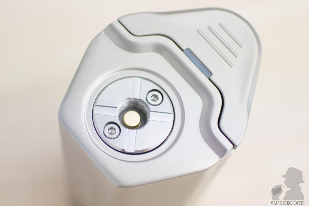MAXO Zenith Box Mod アトマイザー接続部