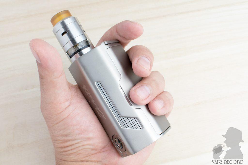 MAXO Zenith Box Mod RDTA 5s装着