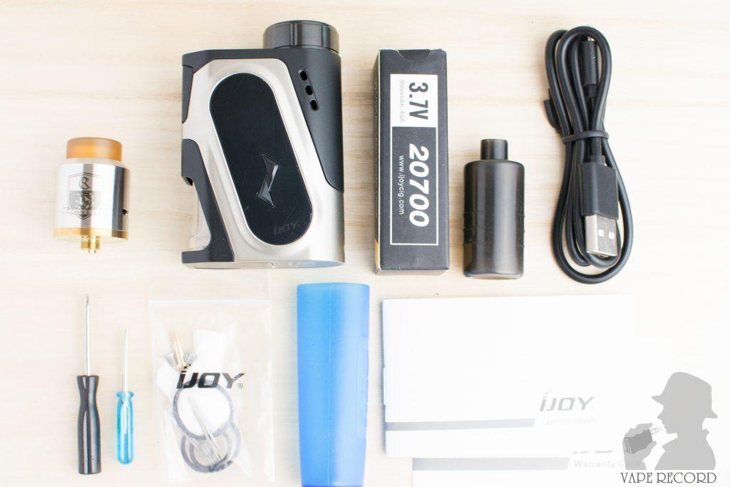 CAPO Squonker Kit 内容物