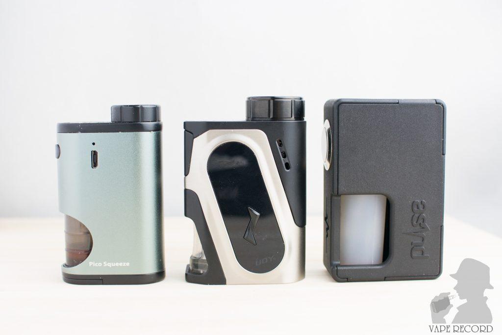 CAPO Squonker Kit サイズ比較正面