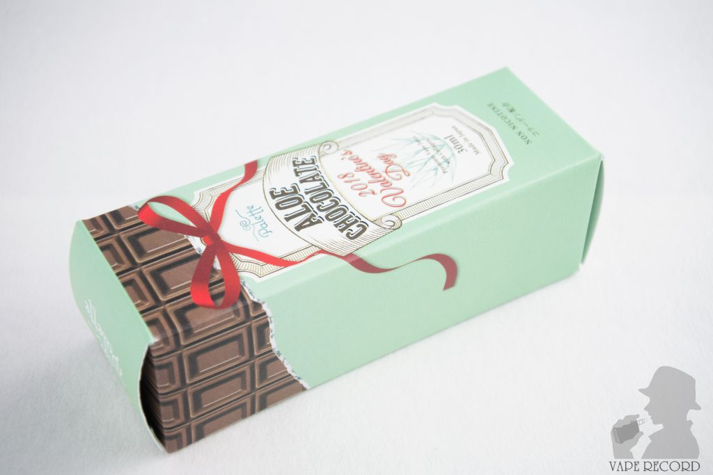 ALOE CHOCOLATE パッケージ