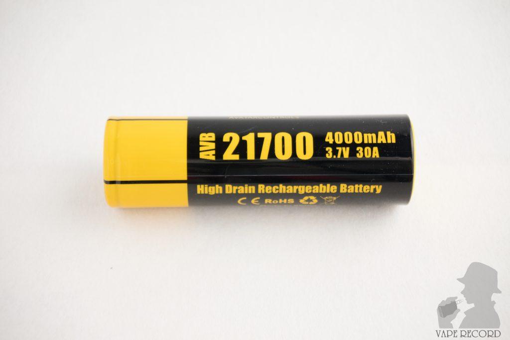 iStick Pico 21700 付属バッテリー