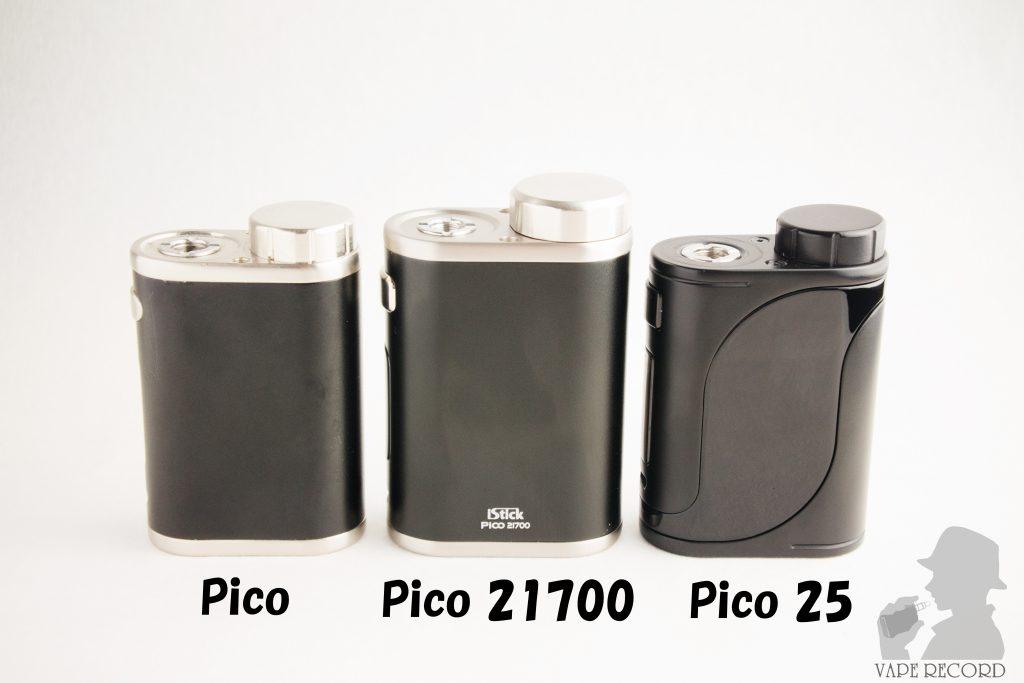 iStick Pico 21700 比較前面