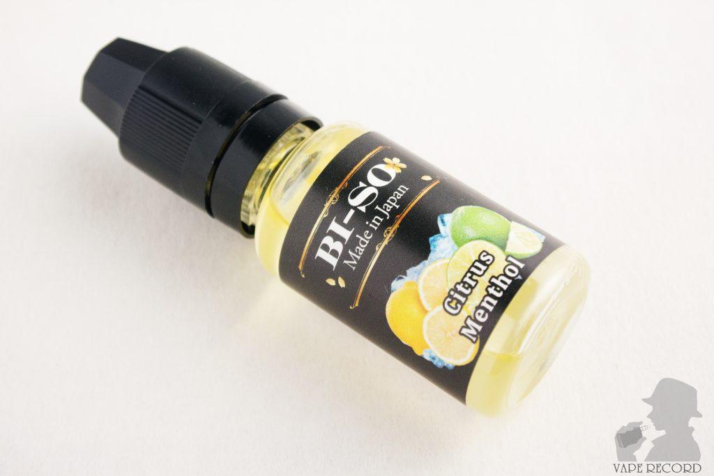 Citrus Menthol ボトル